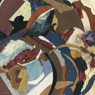 Collage Mixed Media - Potpourri  by Shawna Rowe