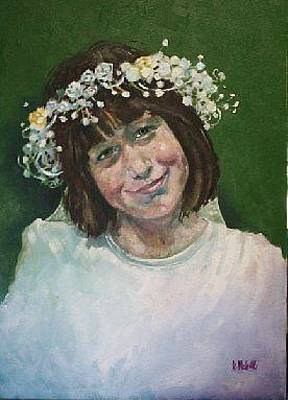 Painting - Potrait Of Erin by Kevin McKrell