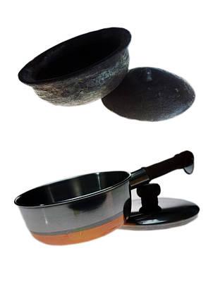 Photograph - Pots Ancient And Modern by Muyiwa OSIFUYE