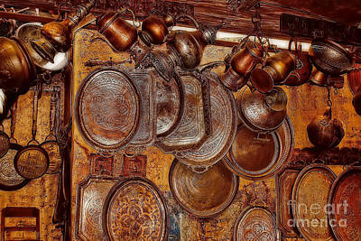 Photograph - Pots And Pans Shop Or Is Jinni Home  by Olga Hamilton