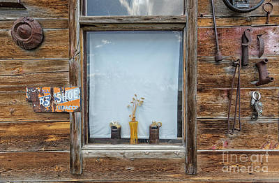 Photograph - Pots In Window by Patti Schulze