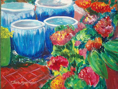 Painting - Potted by Tara Moorman
