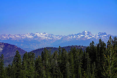 Photograph - Potter Pass View Sierra Nevada by Dale Matson