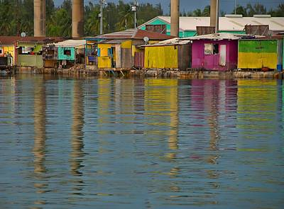 Reflection Photograph - Potters Cay by Steven Richman