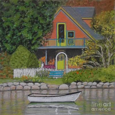 Pastel - Potter's House Chester  by Rae  Smith PAC