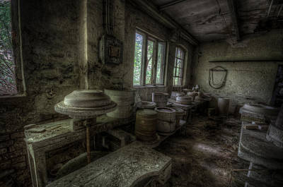 Digital Art - Potters Wheel by Nathan Wright