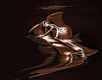Abstract Digital Art Mixed Media - Pottery -  Award-winning Image by Gerlinde Keating - Galleria GK Keating Associates Inc