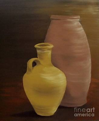 Painting - Pottery by Annemeet Hasidi- van der Leij