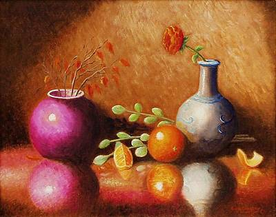 Painting - Pottery Plus by Gene Gregory