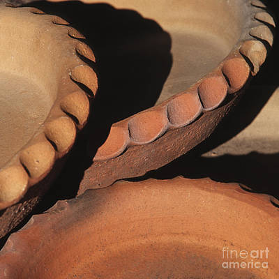 Photograph - Pottery Shadows by Sandra Bronstein