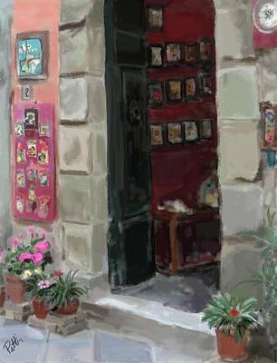 Pottery Painting - Pottery Shop by Patti Siehien