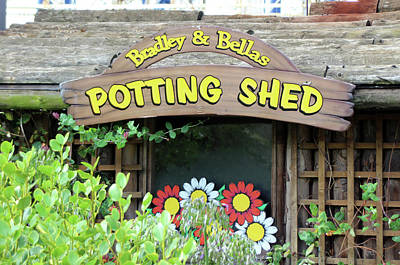 Photograph - Potting Shed by Doc Braham
