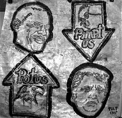 Relief - Potus Pimptus by William Tilton