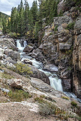Photograph - Poudre Falls by Lynn Sprowl