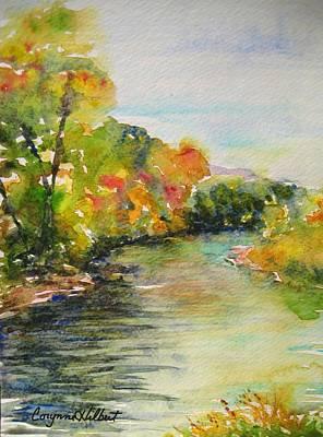 Poudre Riverbend Print by Corynne Hilbert
