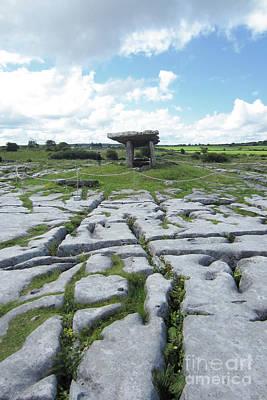 Photograph - Poulnabrone Dolmen Ireland by Rudi Prott