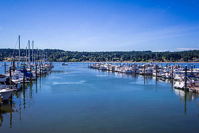 Photograph - Poulsbo Marina by Randy Bayne