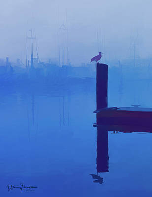 Painting - Poulsbo Waterfront 01 by Wally Hampton
