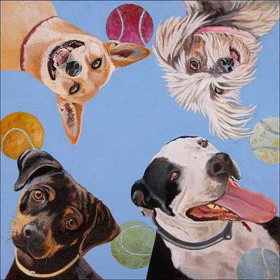 Pound Puppies Art Print