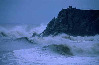 Coast Hwy Ca Photograph - Pounding Surf - Pacific Coast Highway by Soli Deo Gloria Wilderness And Wildlife Photography