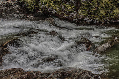 Photograph - Pounding Torrent by Jeff Folger