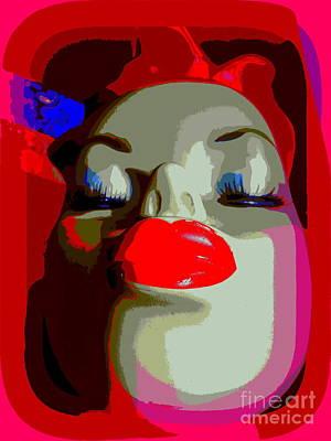 Digital Art - Pouty Patsy by Ed Weidman