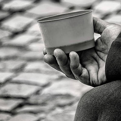 Photograph - Poverty And Cobblestone by Phil Cardamone