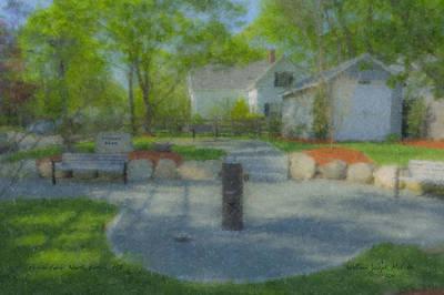 Povoas Park Art Print