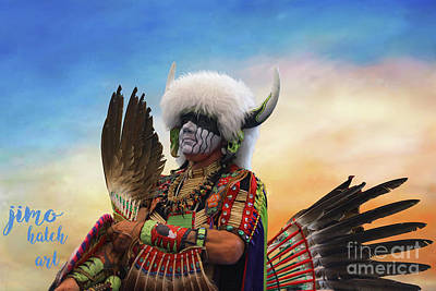 Photograph - Pow Wow 3 by Jim Hatch