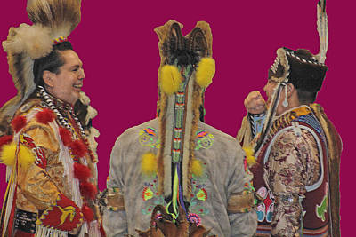 Photograph - Pow Wow by Audrey Robillard