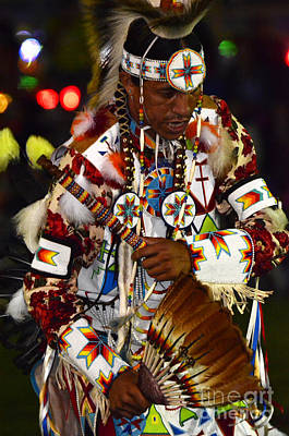Fancy-dancer Photograph - Pow Wow Beauty Of The Past 10 by Bob Christopher