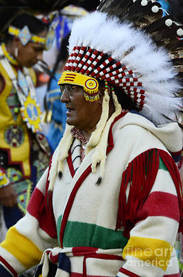 Fancy-dancer Photograph - Pow Wow Beauty Of The Past 15 by Bob Christopher