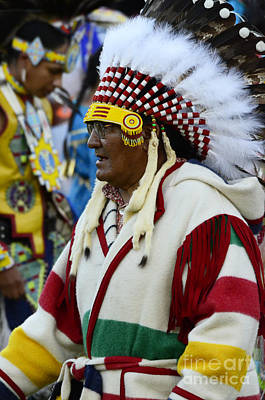 Fancy-dancer Photograph - Pow Wow Beauty Of The Past 16 by Bob Christopher