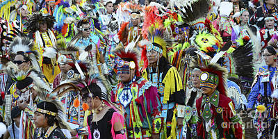 Fancy-dancer Photograph - Pow Wow Beauty Of The Past 4 by Bob Christopher