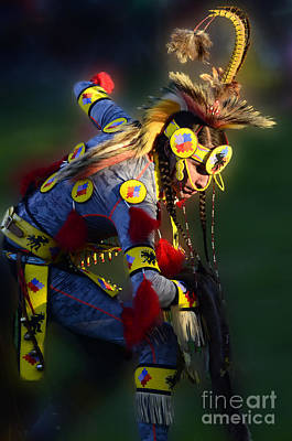 Beadwork Photograph - Pow Wow Beauty Of The Past 7 by Bob Christopher