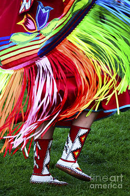 Fancy-dancer Photograph - Pow Wow Beauty Of The Past 9 by Bob Christopher