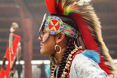 Photograph - Pow Wow Celebration No 1 by David Smith
