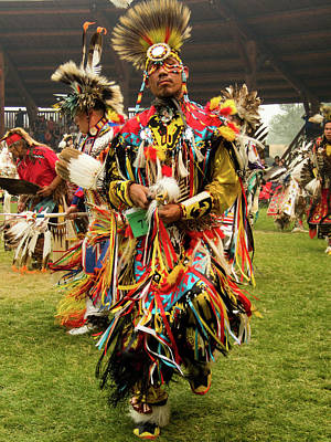 Photograph - Pow Wow Celebration No 14 by David Smith