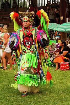 Photograph - Pow Wow Celebration No 16 by David Smith