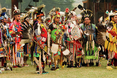 Photograph - Pow Wow Celebration No 2 by David Smith