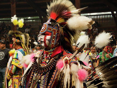 Photograph - Pow Wow Celebration No 26 by David Smith
