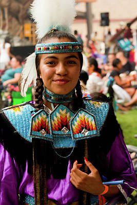 Photograph - Pow Wow Celebration No 3 by David Smith
