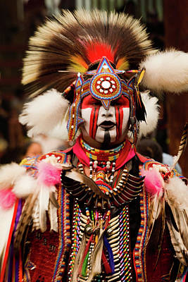 Regalia Photograph - Pow Wow Celebration No 6 by David Smith