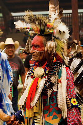 Photograph - Pow Wow Celebration No 7 by David Smith