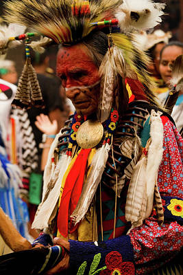 Photograph - Pow Wow Celebration No 8 by David Smith