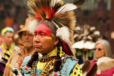 Photograph - Pow Wow Celebration No 9 by David Smith