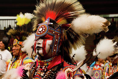 Regalia Photograph - Pow Wow Celebration No 10 by David Smith