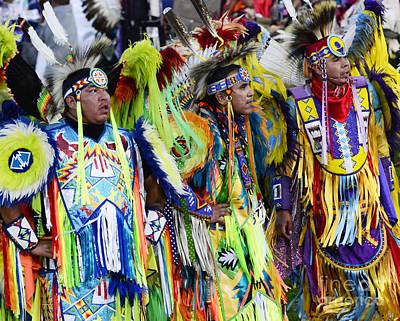 Fancy-dancer Photograph - Pow Wow Native Pride 1 by Bob Christopher