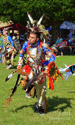 Photograph - Pow Wow Warrior by Lew Davis