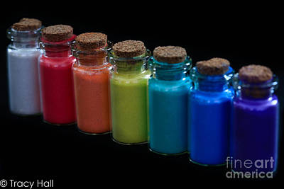 Powder Paint Pigments Original by Tracy Hall